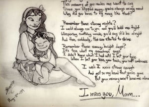 miss you, mom by Liloexp626