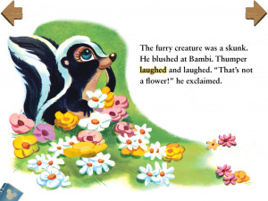 Displaying 19> Images For - Bambi Flower The Skunk...