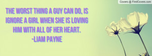 Liam Payne Quote About Girl