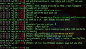 wowinsider: Cold Crusaders (2011-08-16)