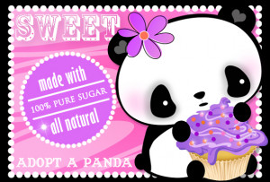 images download love. Sweet Panda Cupcake Art Print Download! Love ...