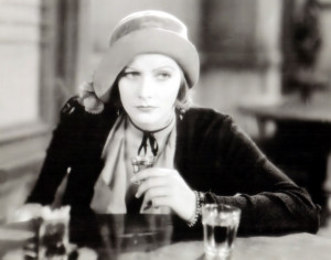 Greta Garbo in Anna Christie directed by Clarence Brown, 1931