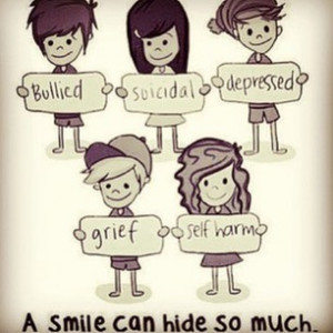 Smile Can Hide so Much Tumblr