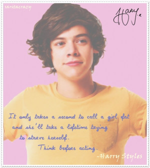 harry styles quotes about fans