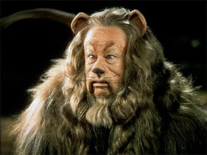 The Wizard of Oz The cowardly lion