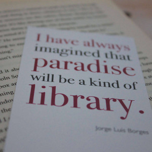 Literary Quote Bookmark ~ Lovely Cuppa ~ £1