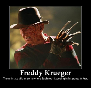 Freddy Krueger Motivator by Movie-Man