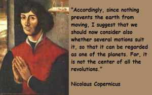 Quote from Nicolaus Copernicus