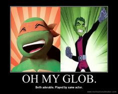 OH. MY. GLOB. More