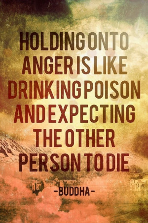 Anger Only Hurts You