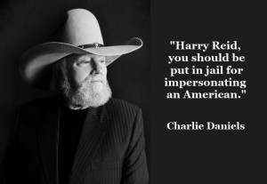 Graphic Quotes: Charlie Daniels on Harry Reid