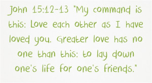 Top 7 Bible Verses About Loving One Another