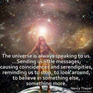 listen to the universe