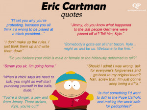Eric Cartman Quotes