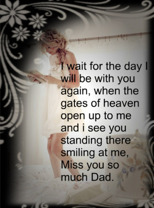 Miss You Dad Quotes From Daughter