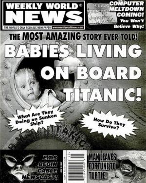 Babies Living On Board Titanic!