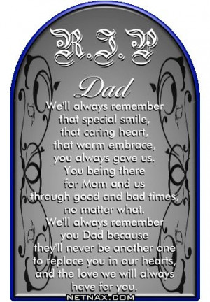 Rip Dad Quotes From Daughter 43a266b90331ebeebee2c8efe36 ...