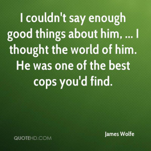 James Wolfe Quotes