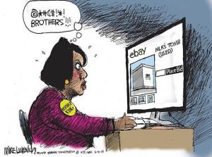 0205 Luckovich cartoon: Sibling rivalry | Mike Luckovich .