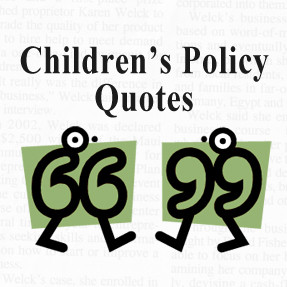 This is part of our children's policy round-up series where we ...
