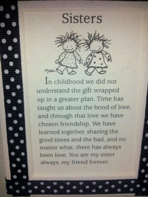 Sister Bond Quotes