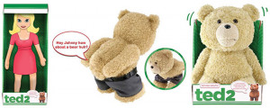 Ted 2 Teddy Bear plush says movie quotes