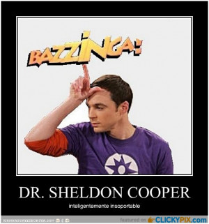 Funny Sheldon Cooper Quotes...