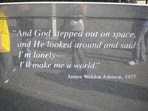 James Weldon Johnson Quote by Laviismine