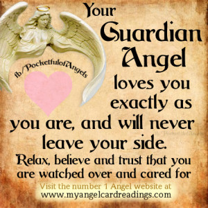 Guardian Angels - Image quotes - Page 1