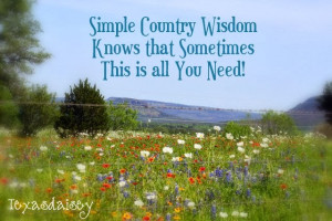 25 funny lessons of simple country wisdom quotes or sayings...life ...