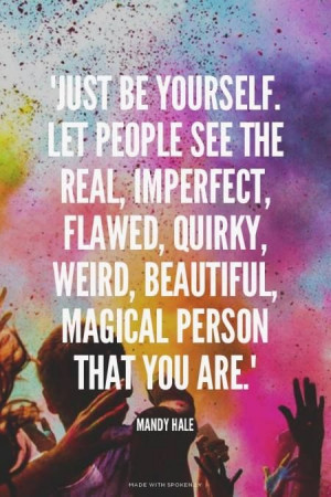 Daily Quotes of Inspiration – Be Yourself