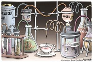 Tea Party Cartoons