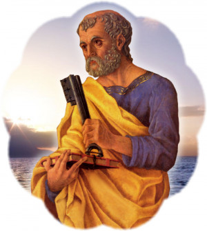 St Peter The Apostle And Jesus St. peter graphic 3