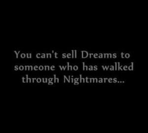 Nightmares quote
