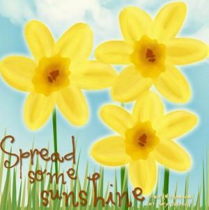 Spread some sunshine