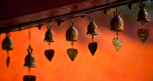Temple bells and chimes, Chiang Mai, Thailand (© WIN-Initiative/Getty ...