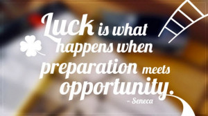 """Top 10 Inspirational Quotes Worthy of Your Refrigerator - """"Luck is ..."""