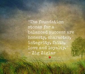 "Zig Ziglar ""Balanced Success"" Quote"