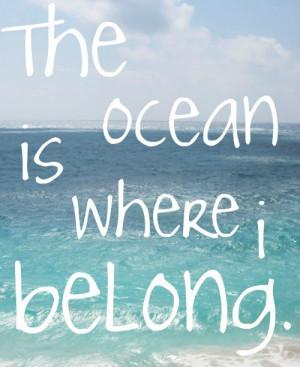 belong, ocean, quote, take me, text, typography