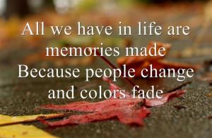 Make lasting memories. #life #quote #memories