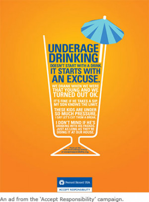 Responsible Drinking Alcohol