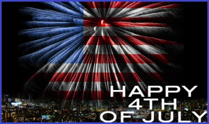 ... this great day My friend. Happy Fourth of July — Benjamin Franklin