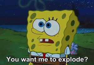 LOL funny spongebob spongebob squarepants dessert squidward Dying for ...
