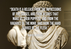 marcus aurelius quotes on death
