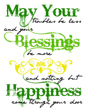 Irish Quotes About Love Irish blessing quote
