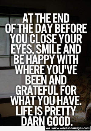 At the end of the day quote image