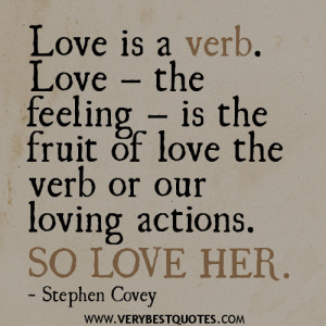 Stephen Covey Quotes on Love