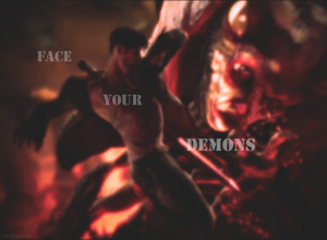 Face Your DEMONS by RevyJerry on DeviantArt