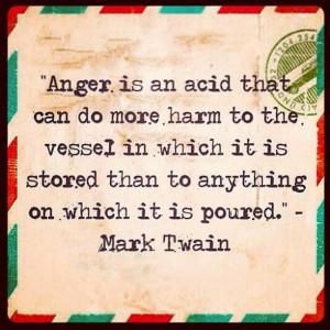 Forgiveness Anger