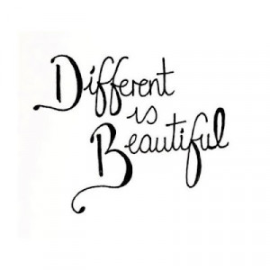 different is beautiful quotes